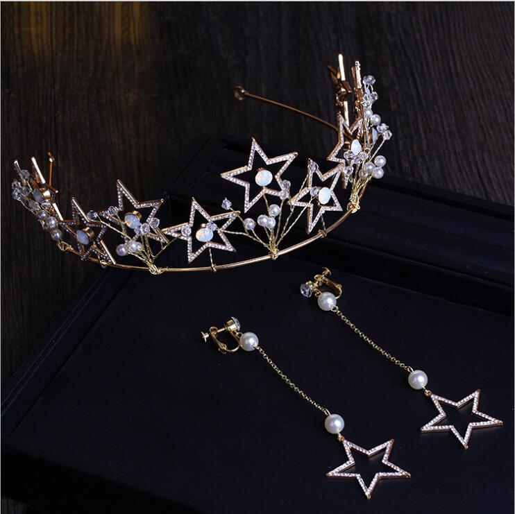 Wedding crown headband Tiaras para As Mulheres flor noiva de cristal tiaras coroas de rei Do Cabelo Do Casamento Acessorios headband for girls dot bow hairband turban knot tiaras e acessorios de cabelo infantil 2645