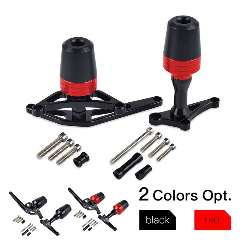 H2CNC Frame Sliders Crash Pads Guard Falling Protectors Kit For Ducati 1199 Panigale S 2012 2014 /SR 2013 2017 Superleggera 2014