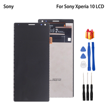 Original For Sony Xperia 10 LCD Display Touch Screen  Phone Parts For Sony Xperia 10 I3123 I3113 I4113 I4193 Screen LCD Display original new 5 eink for sony prs 350 lb050s01 rd02 e ink lcd screen display lb050s01 rd02 lb050s01 rd 02