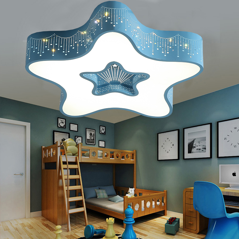 Ceiling Lights Ceiling Lights & Fans Apprehensive Cartoon Led Ceiling Lamp Star Moon Childrens Lamp Living Room Bedroom Lamp Princess Children Room Lamp Ceiling Light Wl320550