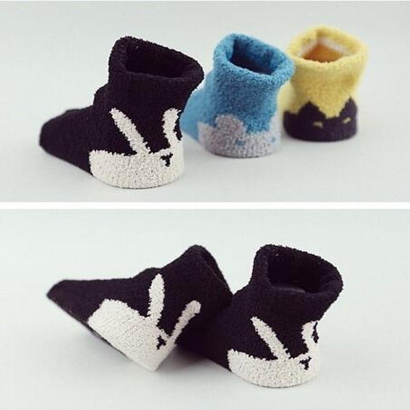 Verkauf 2 Paar Neue Baby Aktien Super Dicke Weiche Boden Socken Geeignet Für Baby Oder Kinder Tws0150 Chinesische Aromen Besitzen
