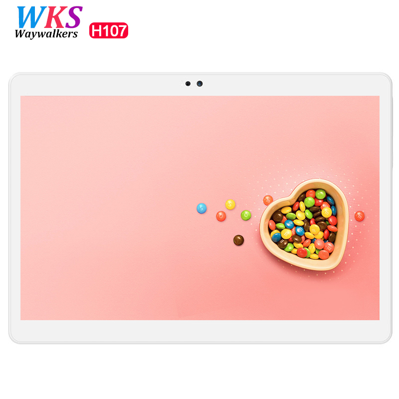 WAYWALKERS 10.1 inch Tablets 1920*1200 Full IPS Octa Core Android 6.0 Dual Cameras Bluetooth 4G LTE WIFI Tablet PC For Kids