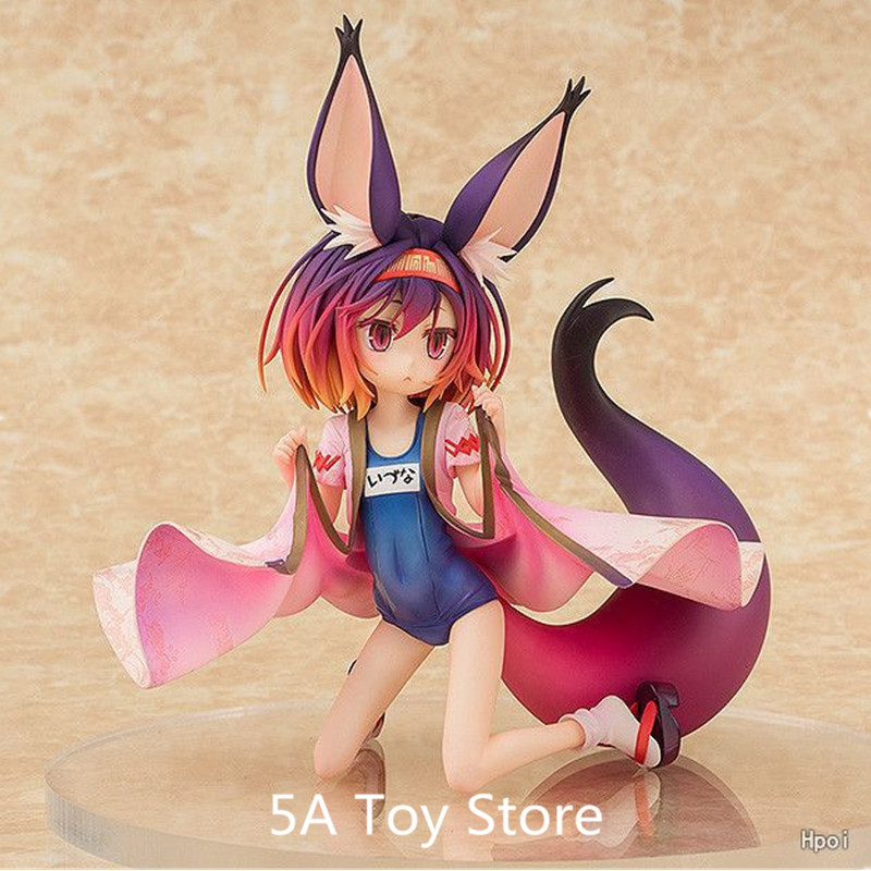 Toys & Hobbies Brave Anime No Game No Life Hatsuse Izuna Swimsuit Style 1/7 Scale Painted Collectible Model Doll Toys 20cm