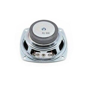 Image 3 - Tenghong 2 pièces 3 pouces gamme complète haut parleurs 4Ohm 10W 78MM carré Portable haut parleur unité pour Home cinéma haut parleurs bricolage
