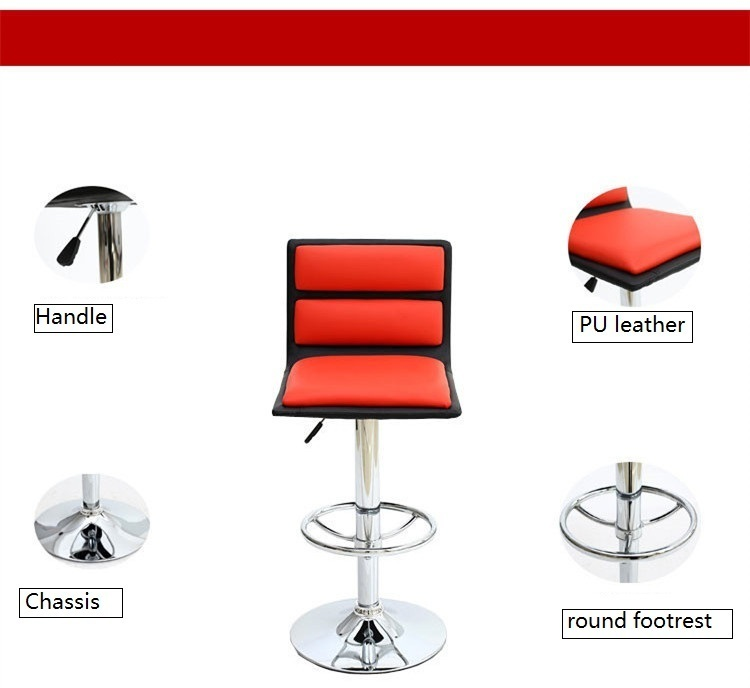 office restroom coffee chair red white color retail cpmpany enterprise meeting room lift stool wholesale free shipping