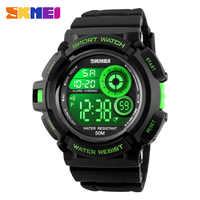 50m Waterproof Men Sports Watches Shock Resistant LED Digital Watch Men SKMEI Brand Student Dress Wristwatches