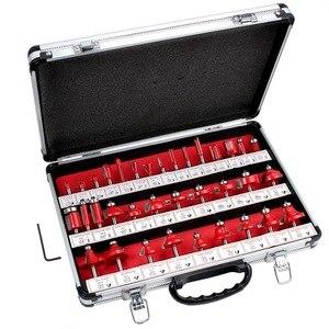 Image 2 - 35Pc Router Bit Set 6Mm Shank Tungsten Carbide Tip Frezen Houtbewerking Tool