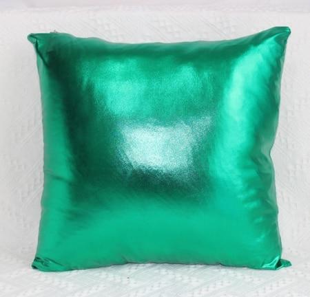 Square shine Home party Decoration  FOIL gold silver pillow Cushion Cover 45 cm