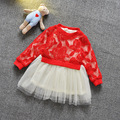 Girls Dress Flower Dance Party Pageant Spring/ Autumn Baby Kids Clothing
