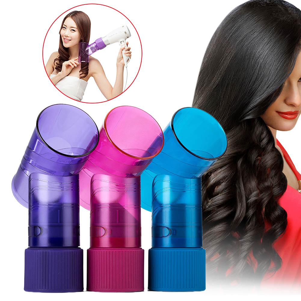 Convenient Hot Hair Dryer Diffuser Portable Hair Curler Maker Magic Wind Spin Curl Hairstyling Tool HY99 AU01 цена 2017
