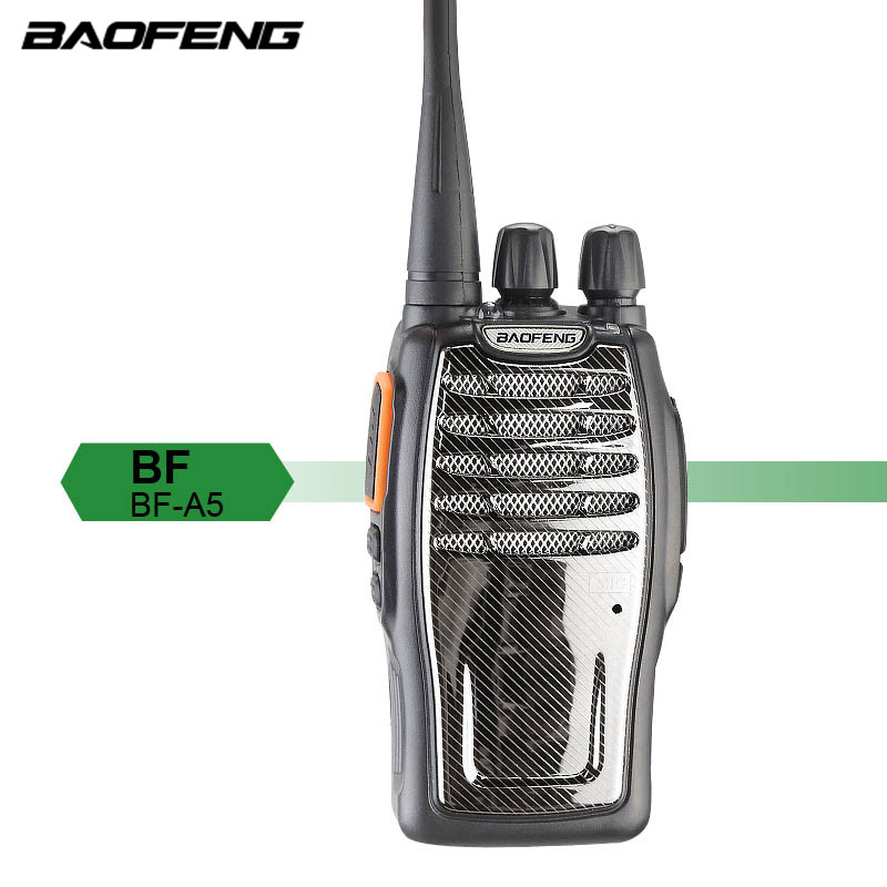 2 pièces Baofeng BF-A5 talkie-walkie Radio FM UHF 400-470 MHz 16CH VOX lampe de poche lumineuse Radio bidirectionnelle