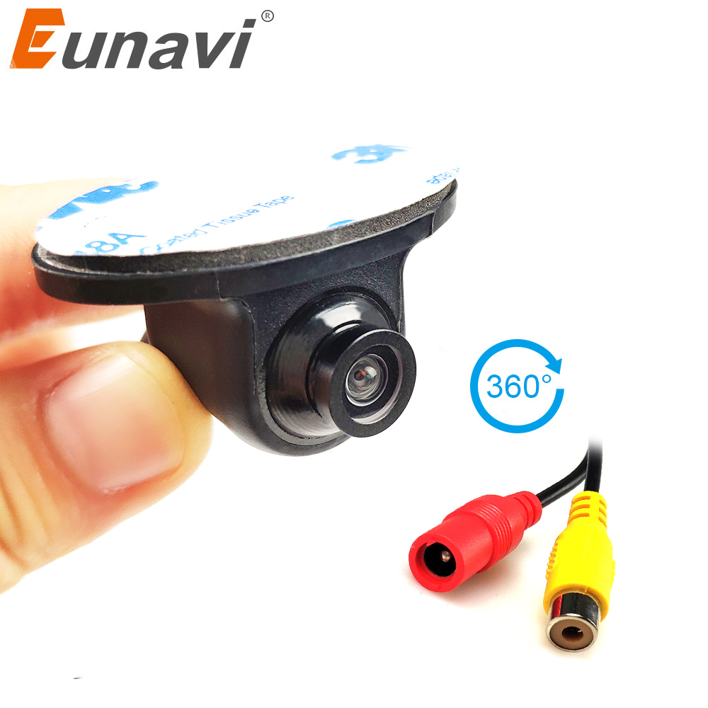 Silver Car Reverse Camera for Universal Rear View Parking System Backup 4Pin