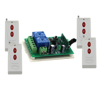 DC 24V 2CH Wireless Remote Control Switch Remote ON/OFF Remote Plug Relay Receiver Transmitter 315/433MHZ