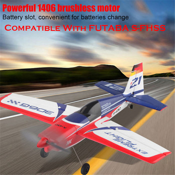 Wltoys XK A430 X4 Transmitter RC Plane 2.4G 5CH Brushless 3D6G System Airplane Compatible With FUTABA S-FHSS Aircraft RC Glider