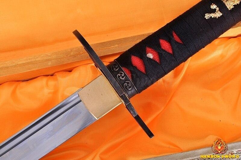 Χειροποίητο Full Tang Ιαπωνικό σαμουράι - Διακόσμηση σπιτιού - Φωτογραφία 5