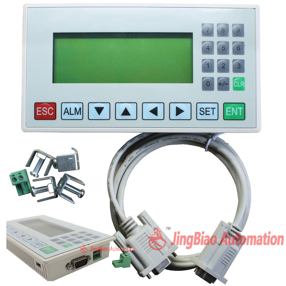 Text display MD204L OP320-A panel display screen HMI with RS232/RS422/RS485 for various PLC,support the modbus protocol 3X 4X мешки для мусора paclan economy с завязками 60 л 15 шт
