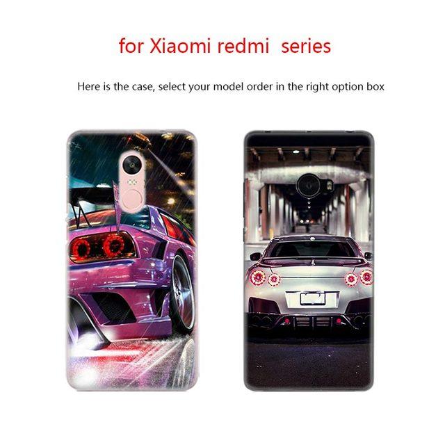 BinFul phone case Transparent Hard cover for Xiaomi mi Redmi Note 7 5 4 3 4X 5A 6 Pro 64g S2 Plus Rear Lights