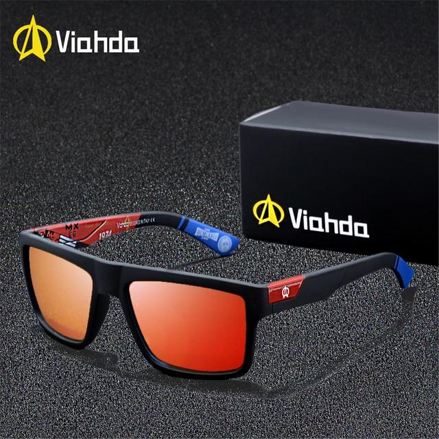 9f349bb315 Viahda 2019 New Brand Squared Polarized Sunglasses Glasses Men Sport  Designer Mormaii Sunglass gafas de sol With Box-in Men's Sunglasses from  Apparel ...