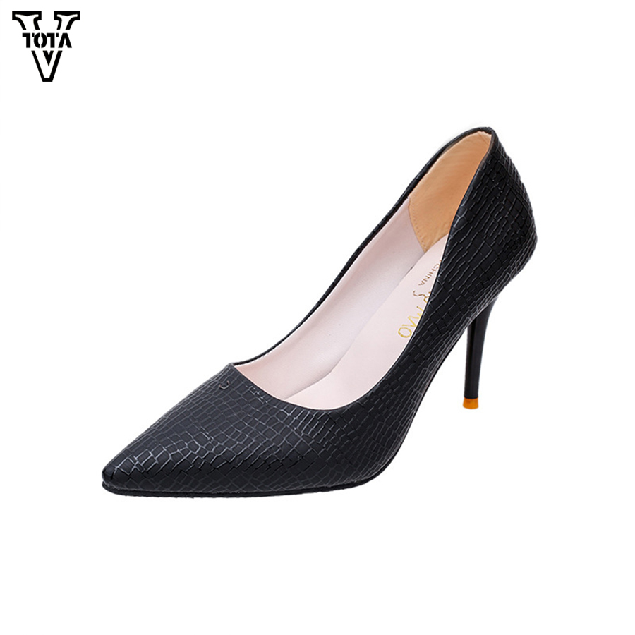 2017 Fashion Shoes Woman Heels Classic worker shoes Sexy Thin Heel Pointed Toe Women's High Heels Pumps Women Shoes P44 2016 woman high heels pumps thin heel women s shoes pointed toe high heels wedding shoes brand fashion shoes