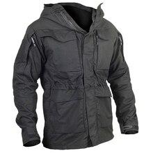 M65 Army Clothes Tactical Windbreaker Men Winter Autumn Jacket Waterproof Wearproof Windproof font b Hiking b