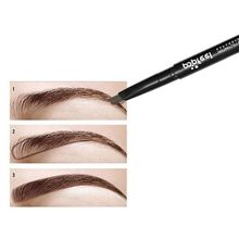 1pcs Pro Women Waterproof Eyebrow Pencil With Brush Makeup Eyebrow Enhancer Automatic Eyebrow Pencilxgrj