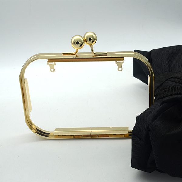 Gold Clutch Frame Box Clutch Frame Box Purse Frame Box Bag Frame 16 X 10 Cm