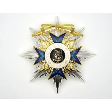 EMD WW1 Breast Star Of Order Of The Bavarian Merit Cross With Swords1