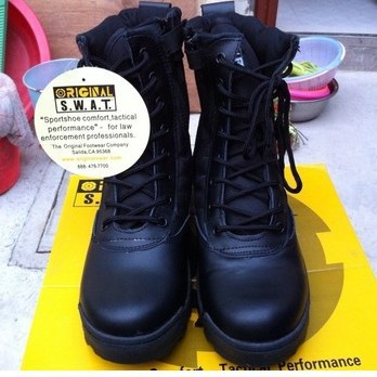 Aliexpress.com : Buy Cool SWAT Army Combat Boots Shoes Men's ...