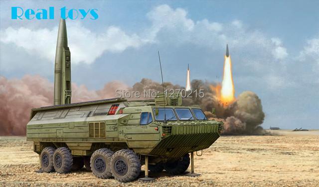 Hobby chefe 1/35 85505 de SS-23 aranha Tactical Ballistic Missile kit modelo de plástico