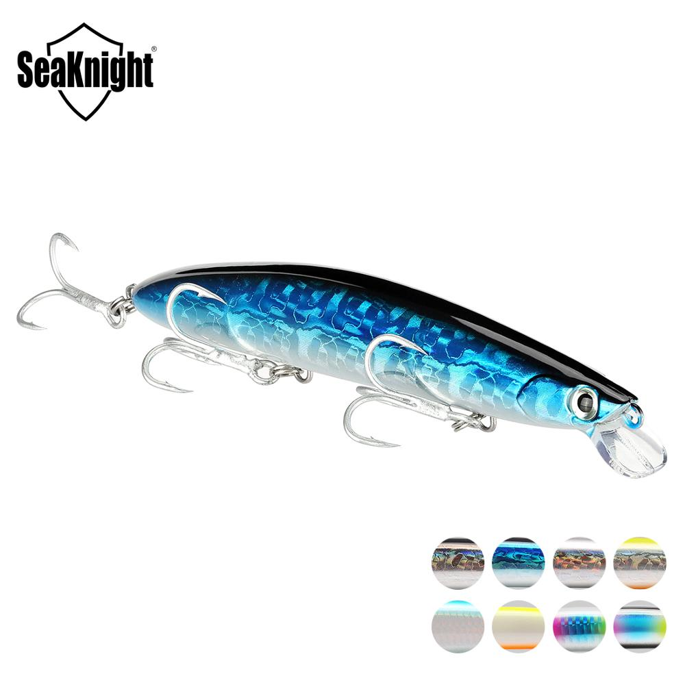 SeaKnight SK008 Minnow Fishing Lure 1PC 20g 125mm 0.3-0.9M Floating Hard Bait Long Casting Lure Carp Fishing Tackle Fishing Bait