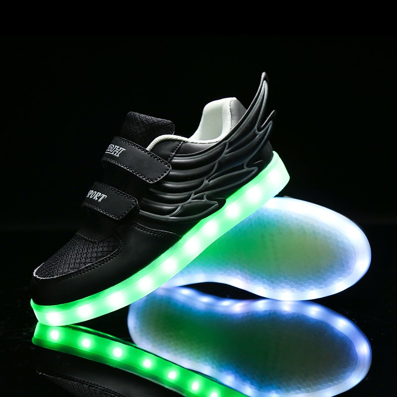 new product cf775 bc4ce usa niños nike light up zapatos cielo azul c9d67 ae3a8