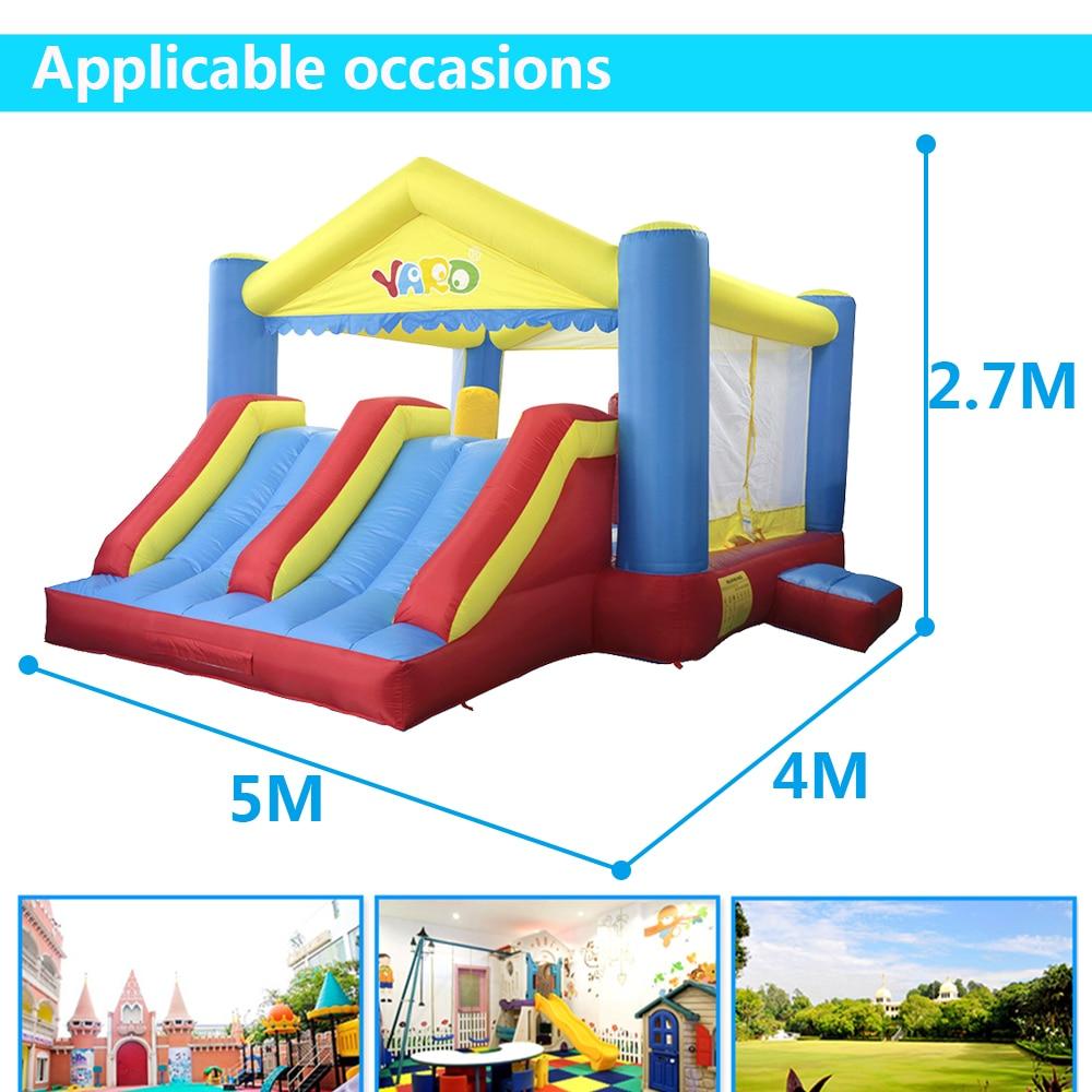YARD Big Inflatable Bounce House Doppelseiten 5 x 4 x 2,7 m - Outdoor-Spaß und Sport - Foto 4