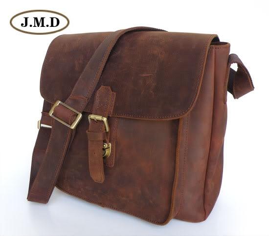 J.M.D New Arrivals 100 % Genuine Cow Leather Unisex Shoulder Bag Fashion Multi-Compartment Design Crossbody Bag 7111RJ.M.D New Arrivals 100 % Genuine Cow Leather Unisex Shoulder Bag Fashion Multi-Compartment Design Crossbody Bag 7111R