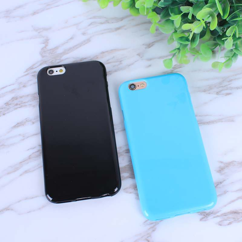 HTB11kTBo nI8KJjy0Ffq6AdoVXay - FREE SHIPING Candy Color TPU Rubber Silicone Soft Gloss Phone Cases Back Cover For iPhone 6 6s 7 8 Plus 5 5s SE X JKP387