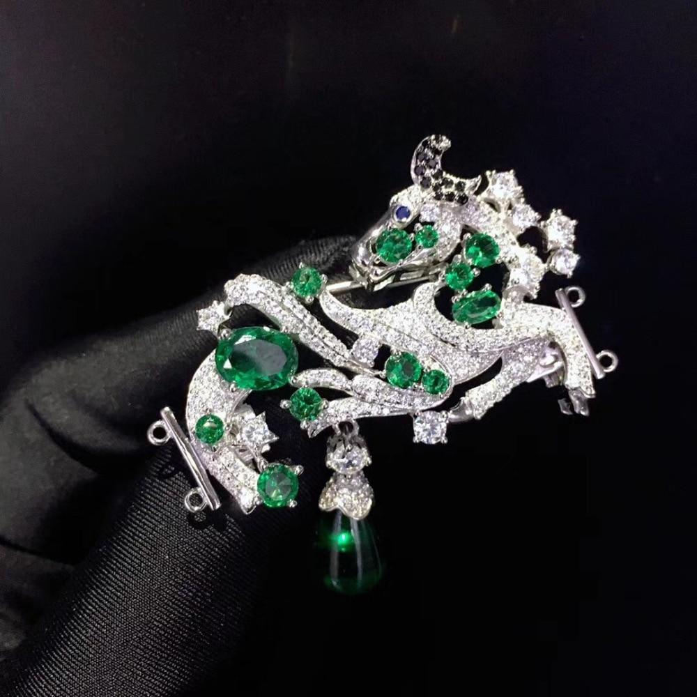 Recherche de bijoux et composants taurus fermoir 925 argent sterling avec zircon cubique broche et fermoir double usage 12 constellation