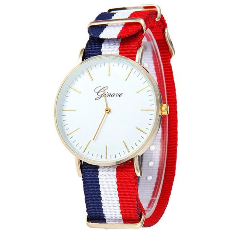 New Curren Watch Men women Top Brand Luxury Nylon Strap Wristwatches Men's Quartz Popular Sports Watches relogio masculin #1123