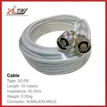 Nowa sprzedaż! Najwyższej jakości 10 m ATNJ 3D FB RG58, których części N końcowe męski/N męski kabel kabel koncentryczny