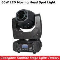 60W LED Moving Head Spot Stage Lighting 10 12 DMX 512 Channel Hi Quality Big Discount