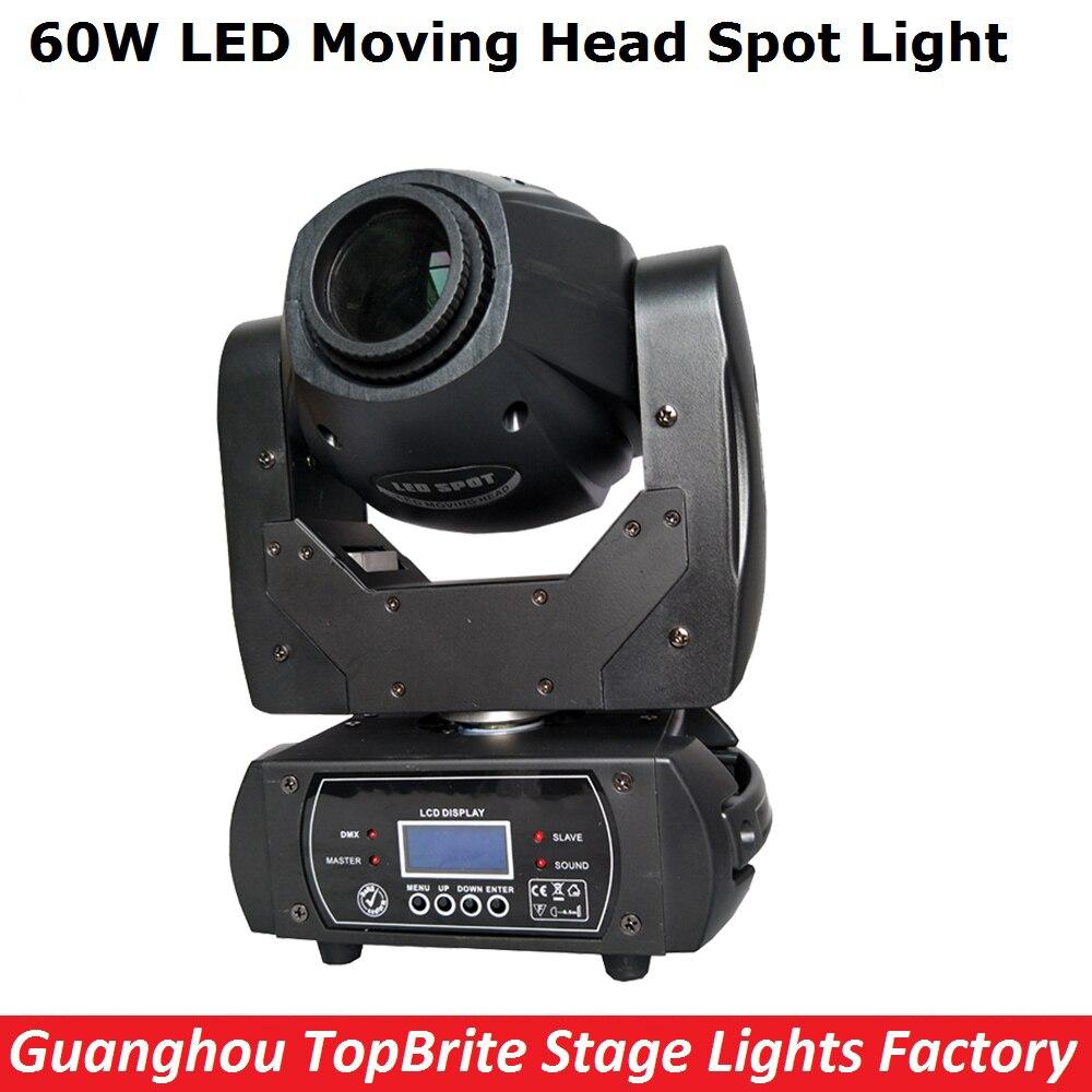 60W LED Moving Head Spot Stage Lighting 10/12 DMX Channel Hi-Quality Big Discount 60W Led Moving Head Beam Light AC110-220v