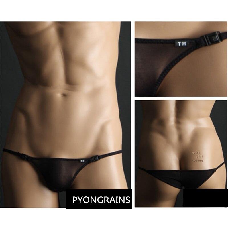 2018 Mens Underwear Briefs TM Men Mini Sexy Men Underwear Men Slip Jockstraps Manview Low Waist Cueca Gay Mens Bikini Briefs