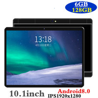 2019 New 10 inch tablet PC Octa Core 6GB RAM 128GB ROM Android 8.0 WiFi Bluetooth Dual SIM Cards 3G 4G LTE Tablets 10.1+Gifts