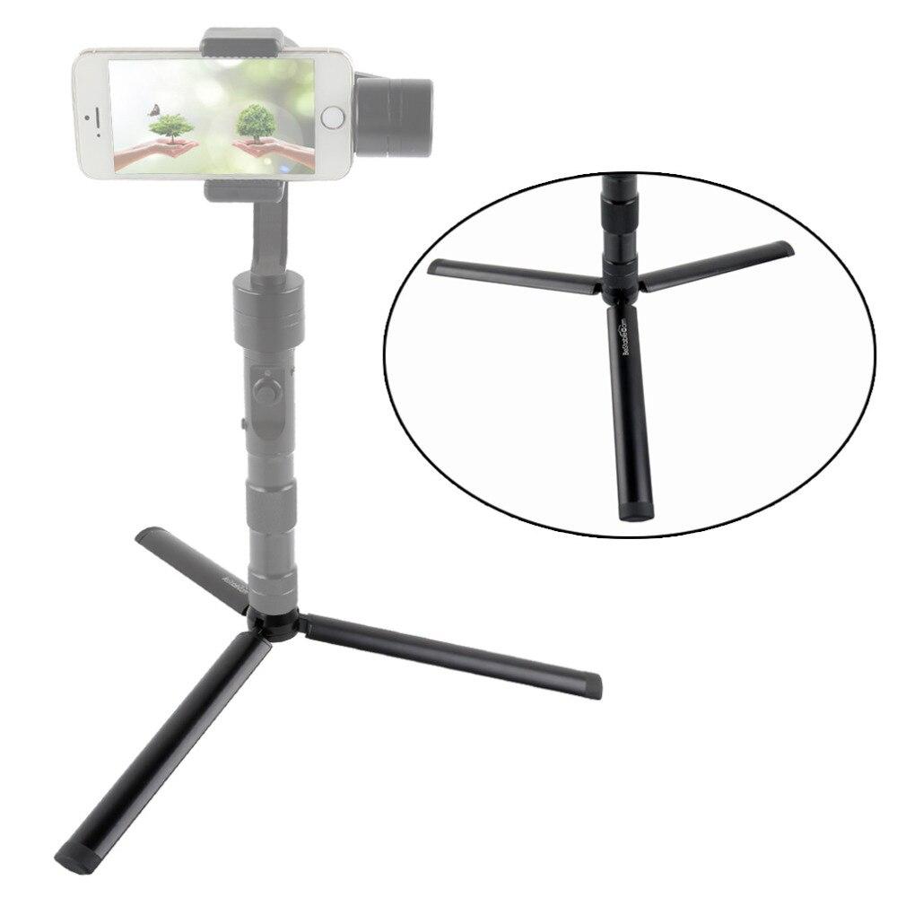Aluminum Mini Table Tripod Leg for Zhiyun Smooth Q Crane Tripod Head Selfie Stick Extendable Monopod Smartphones Cameras