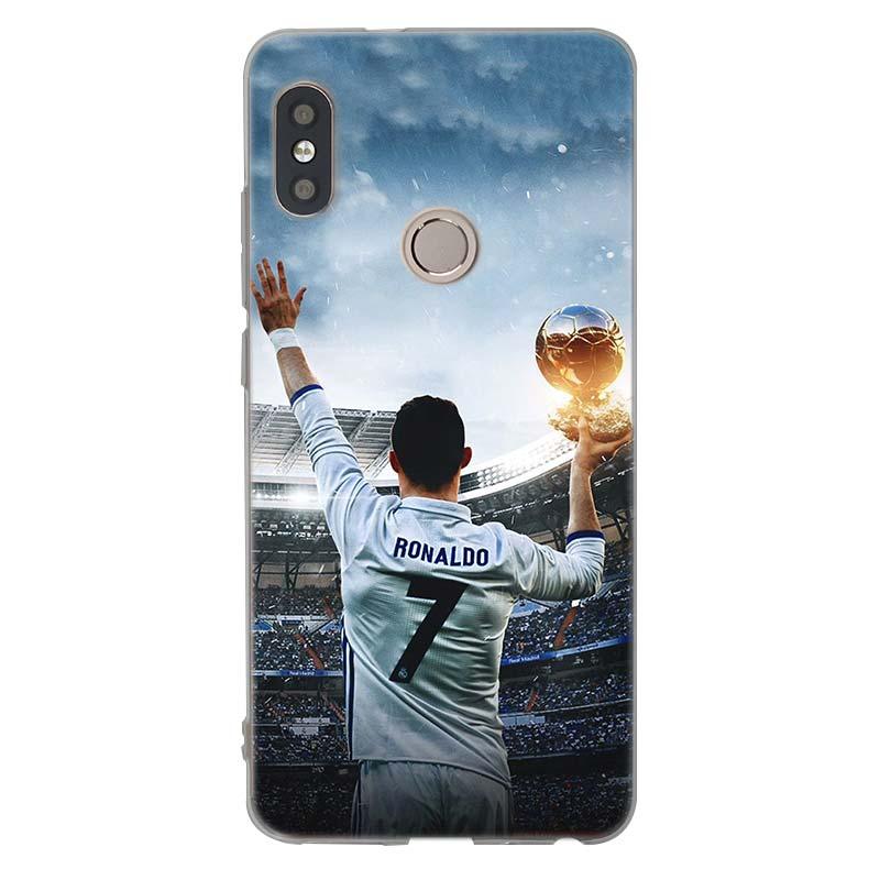 Cristiano Ronaldo CR7 Football Transparent Soft TPU Case For Xiaomi ... 5a5af3cf47a4