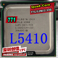 Free Shipping For Intel Xeon L5410 service CPU/2.33GHz /LGA1366/L2 Cache 12MB/Quad-Core/scrattered pieces Processor