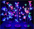 New LED Bonsai Flash Transparent Tree Lights Nightlight Decorations Butterfly Light Landscape Gradient Flashing Color