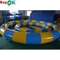 Sayok 3 м/6 м Диаметр ПВХ надувной бассейн воды игры с воздушный насос для малышей для взрослых играть Funning