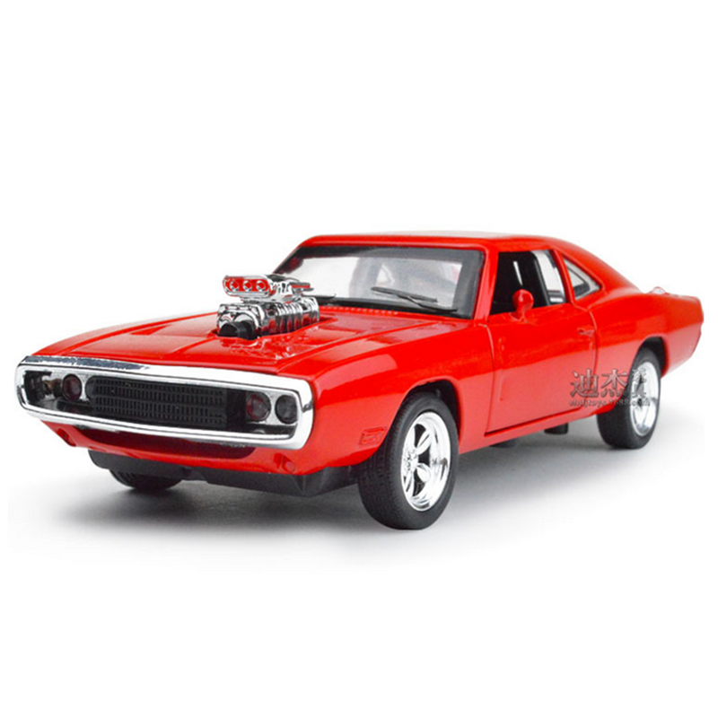 the fast and the furious dodge charger alloy cars models kids toys wholesale four color metal