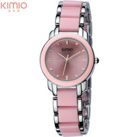 Women Quartz Watches Fashion Lady Bracelet Watches KIMIO Brand 2017 Gift Clock Dress Watch Luxury Female