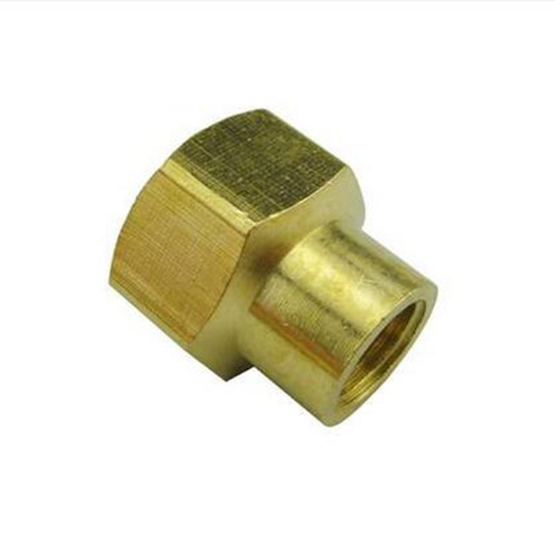 Brass Reducer Connector Hex Head 1/8