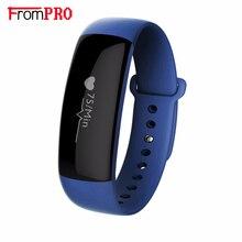Frompro M88 умный Браслет Bluetooth 4.0 OLED Экран Водонепроницаемый измерять кровяное давление сердечный ритм Мониторы Smart Band Фитнес трекер